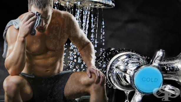 Възстановяващата сила на студения душ след тренировка - изображение