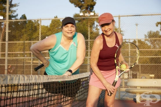 Тенис среща води до победа над рака на гърдата и приятелство за цял живот - изображение
