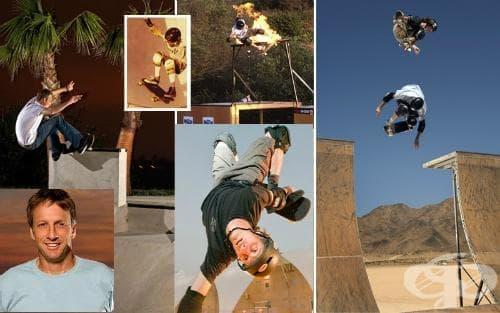 Тони Хоук - скейтбординг - изображение
