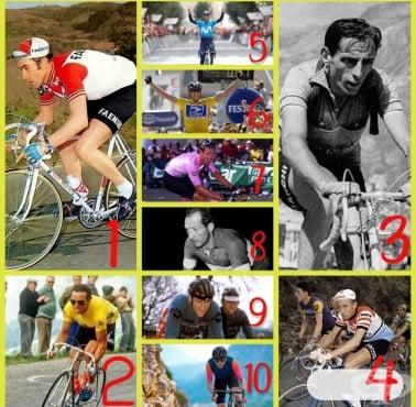 Топ 10 на най-великите шосейни колоездачи на всички времена - изображение