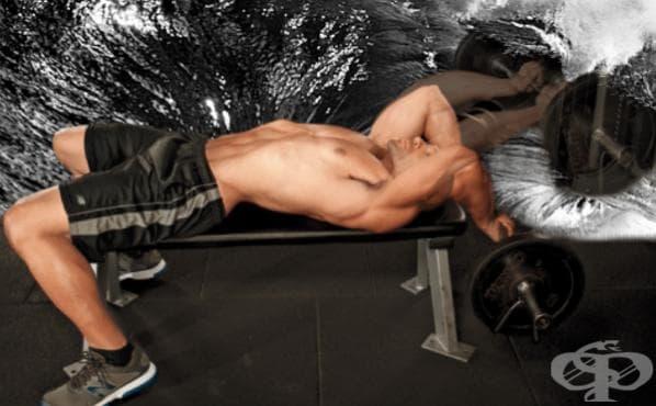 Тренировка за трансформация на трицепсите - изображение