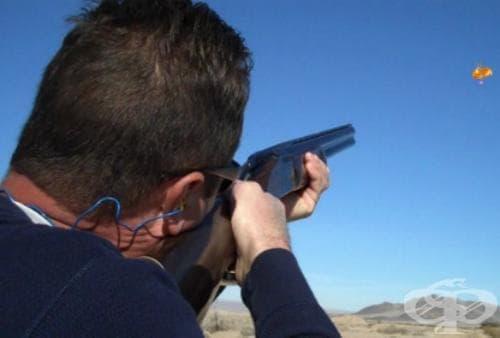 Трап стрелба - изображение