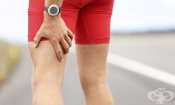Травми на мускулите на задната част на бедрото - изображение