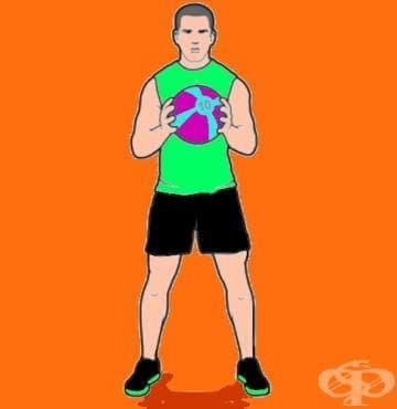 Революционна тренировъчна програма с медицинска топка - изображение