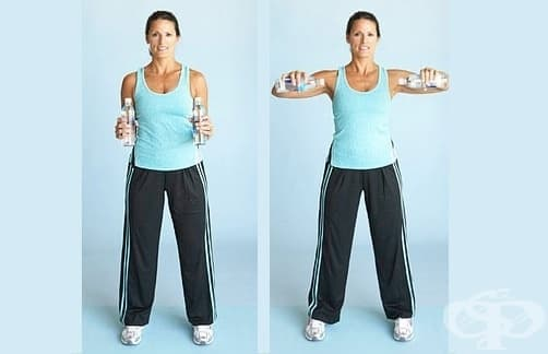 Лесна тренировка с бутилки вода, която всеки над 40-те трябва да прави у дома - изображение