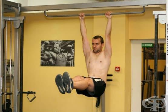 Разбиваща тренировка за долната част на корема - изображение