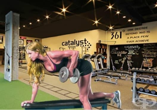 30-минутни тренировки за жени за горната част на тялото - изображение
