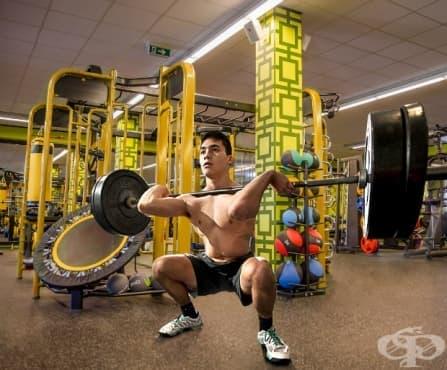 Тренировка за крака за начинаещи - изображение