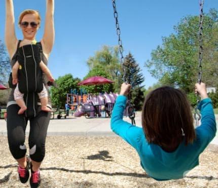Тренировка за релеф на детската площадка - изображение