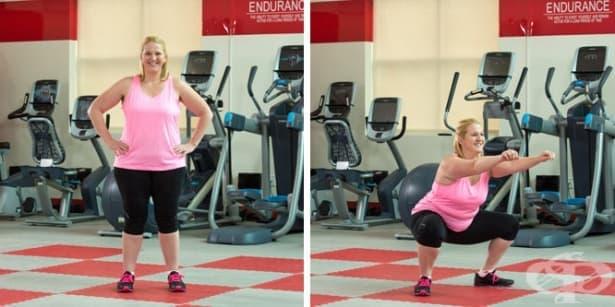 Тренировка за отслабване с плавно покачване на натоварването за хора с повече килограми  - изображение