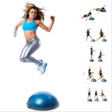 Високоинтензивна кръгова тренировка с босу топка - изображение