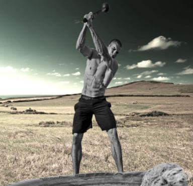 Тренировка с боздуган / тежък чук - изображение