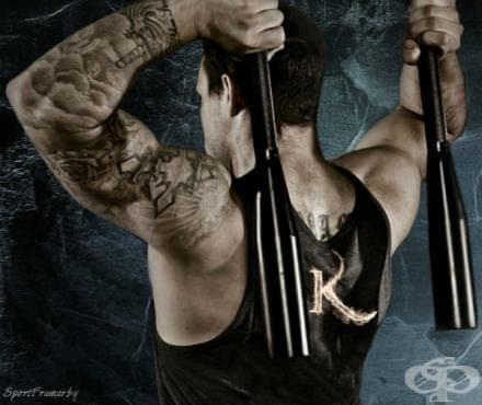 Тренировка за подвижност на раменния пояс с индийски бухалки - изображение