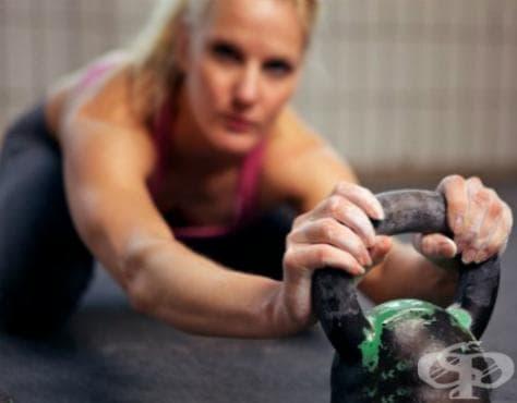 Тренировка с пудовка за начинаещи - изображение