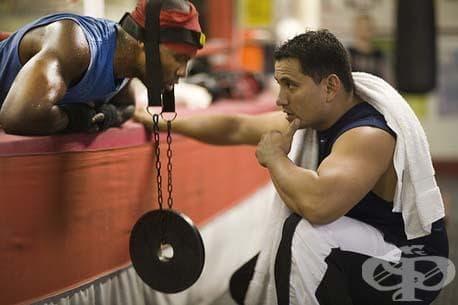 Тренировка за вратните мускули - изображение