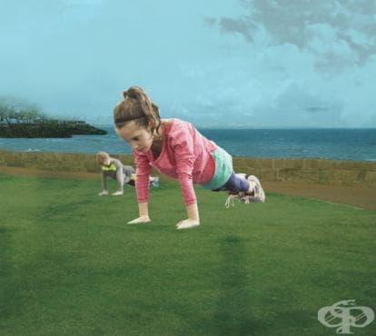 Детска тренировка за цялото тяло - изображение