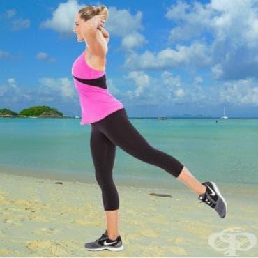 Тренировка за долна част на тялото без тежести, без клекове и без напади - изображение