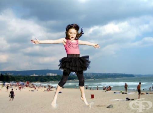 Упражнения за по-силни крака при децата - изображение