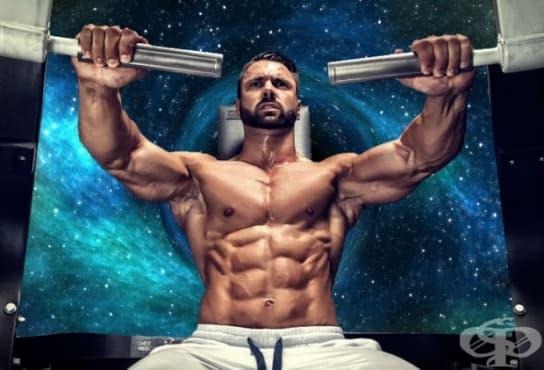 Тренировъчна програма за повишаване на мускулните размери и обем - изображение