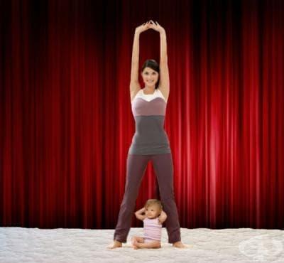 Тренировка за отслабване след раждане - изображение