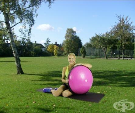 Тренировка за отслабване след раждане с БОСУ топка - изображение
