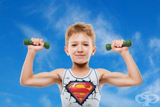 Упражнения за силни ръце при децата - изображение
