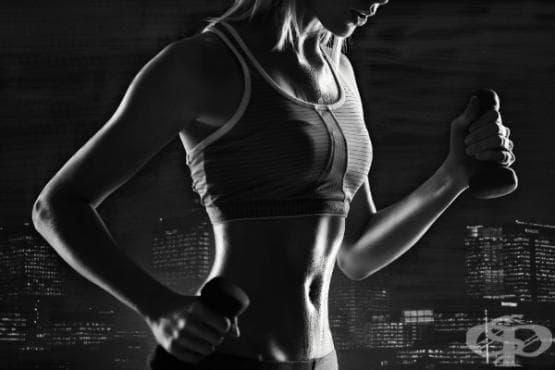 Тренировка с намаляващи серии за оформяне на секси ръце - изображение