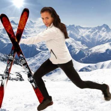 Най-добрите 5 упражнения за подготовка за ски спускания - изображение