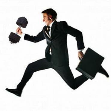 Тренировка за заети мъже - изображение