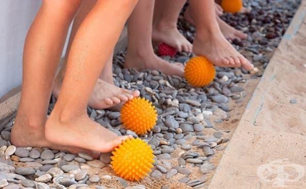 Упражнения за деца срещу плоскостъпие - изображение