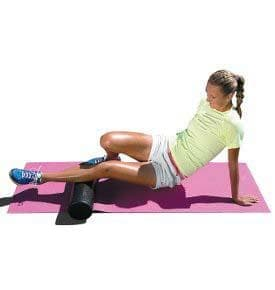 Упражнения с фоумролер за подобряване на подвижността в тениса - изображение