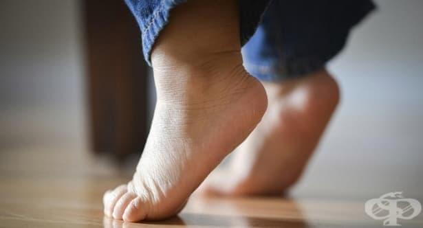 Упражнения при ходене на пръсти при децата - изображение