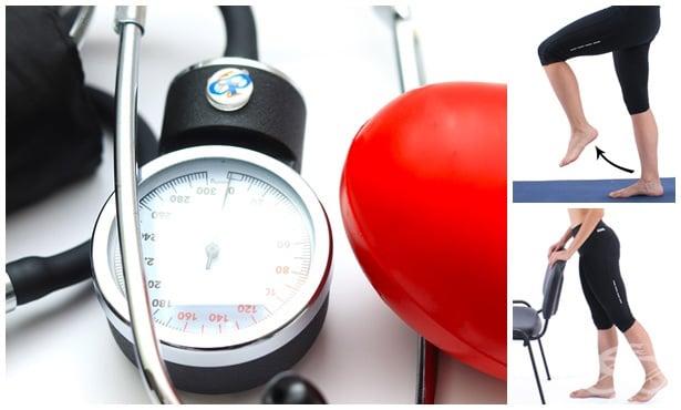 Упражнения при ниско кръвно налягане - изображение