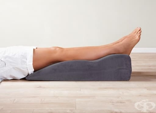 Профилактични упражнения срещу оток на долните крайници - изображение