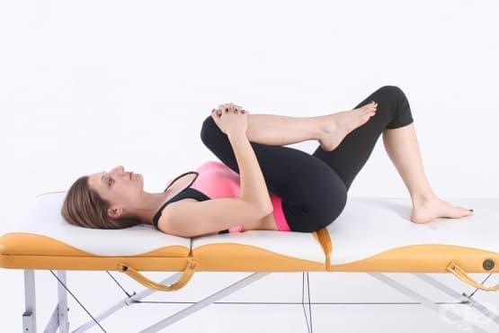 Комплекс от упражнения при радикулит и болка в кръста в острия период (първи етап) - изображение