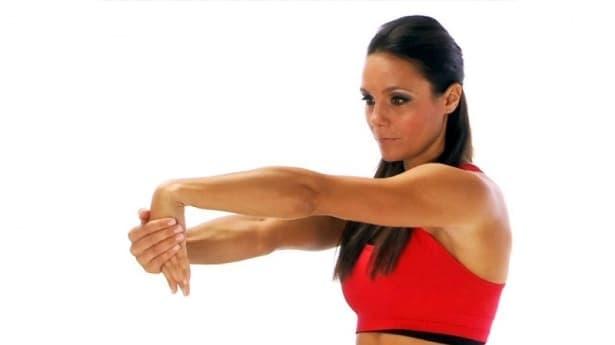 Упражнения при синдром на радиалния канал - изображение