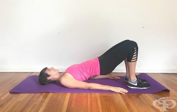 Упражнения за стягане на бедрата и седалището, които щадят коленете - изображение