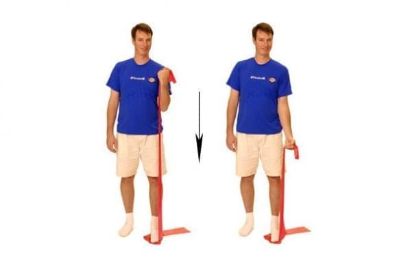 Упражнения при тендинит на бицепса - изображение
