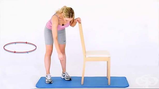 Упражнения за възстановяване след счупване на ключицата - изображение