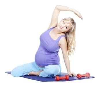 Упражнения по време на бременност (гимнастика за бременни) - изображение