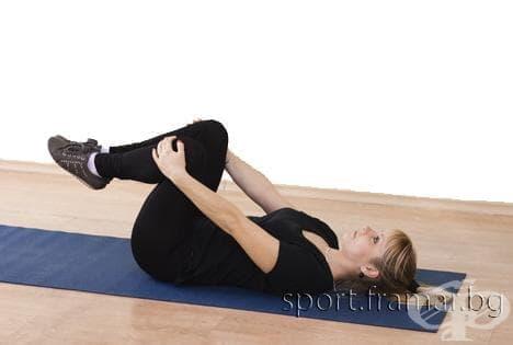 Упражнения за възстановяване след раждане (4-5 седмици след раждането) - изображение