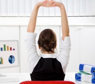 Упражнения за възстановяване след работния ден - изображение