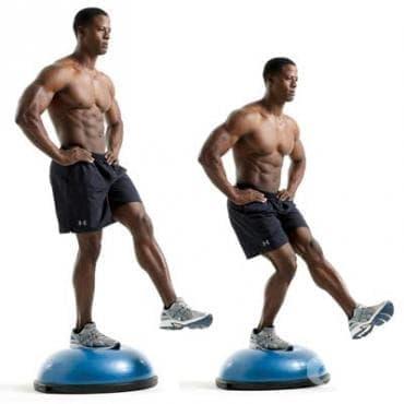 Упражнения за баланс след навяхване на глезена - изображение