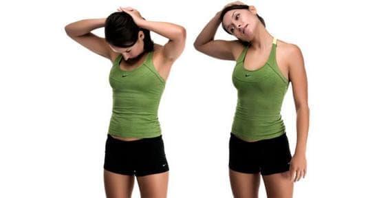 Упражнения за разтягане - врат и горната част на гърба - изображение
