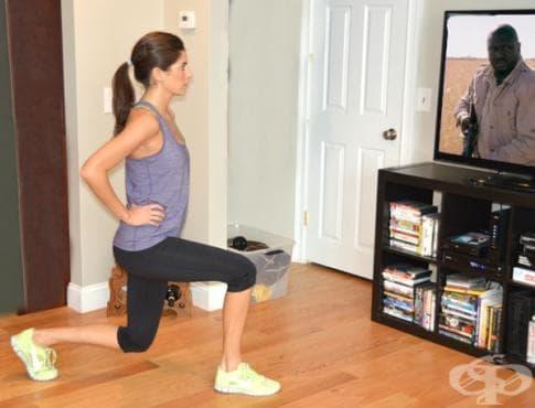 10 упражнения, които можете да изпълнявате докато гледате телевизия - изображение