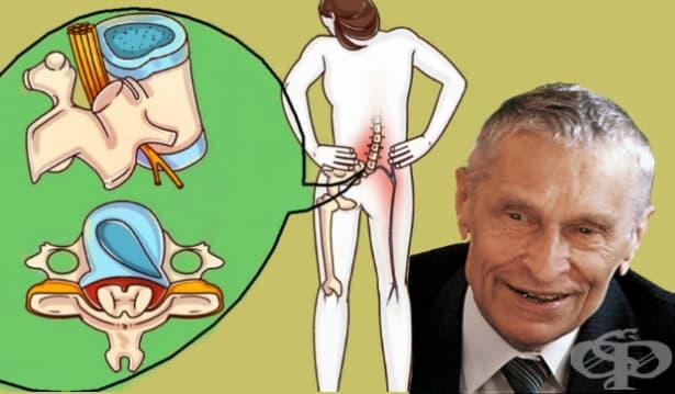Лечебна тренировка за гръбначния стълб на академик Николай Амосов - изображение