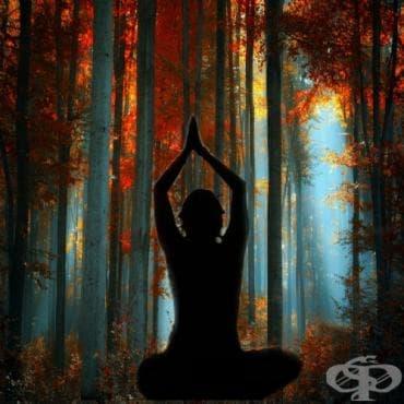 5 успокояващи йога пози за лесен старт на есента - изображение