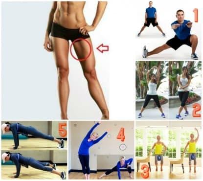 Домашна тренировка с най-добрите упражнения за вътрешна част на бедрата за всички времена - изображение