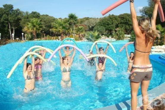 Водна гимнастика - изображение