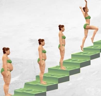 Йерархия на изчистването на мазнините от тялото - изображение